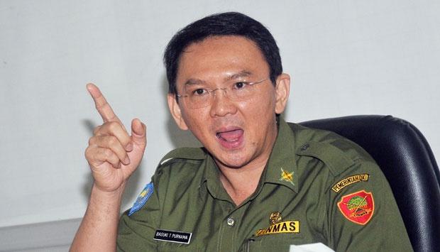 Gubernur Jakarta Basuki Tjahaja Purnama