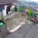 Lintasan Sepeda Downhill Batu Malang Masuk Rumah Warga