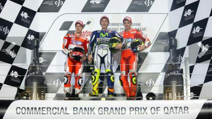 Valentino Rossi Juara MotoGP Qatar