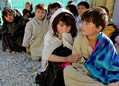 Anak miskin Afghanistan