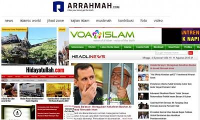 Beberapa situs Islam ditutup