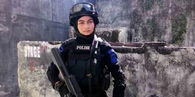 Bripda Nina, pasukan Brimob Anti Teror