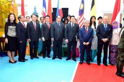 Para Dubes di Doha, Hari Jadi ASEAN ke-48 (kuntum)
