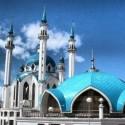 Ilustrasi - Masjid Kul Sharif di Kazan, Rusia