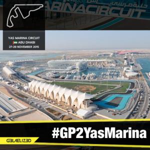 Sirkuit Yas Marina di Abu Dhabi.