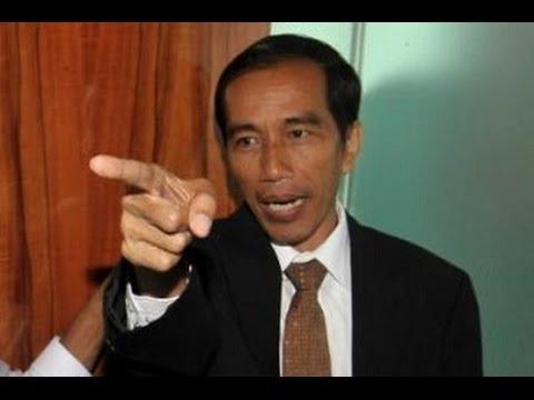 Presiden Jokowi marah besar