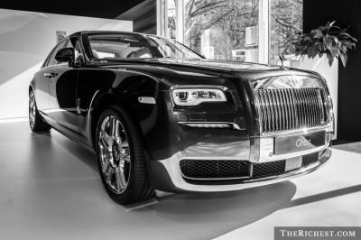 10 - Rolls Royce Ghost.