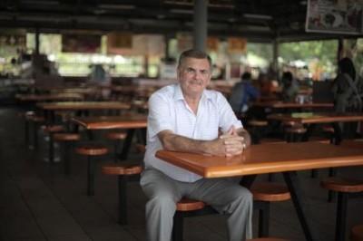Keith Williams menelusuri perjalanan hidupnya sebagai putra bangsawan Malaysia. (mirror.co.uk)