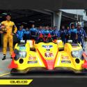Sean Gelael dengan mobil Le Mans Asia. (seangp.com)