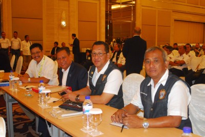 Para peserta Rakernas dan Munaslub PP IMI di Surabaya.