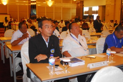 Para peserta Rakernas IMI di Surabaya.