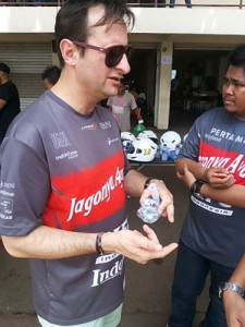 Direktur Teknis tim Jagonya Campos Racing, Philippe Gautheron. (arl)