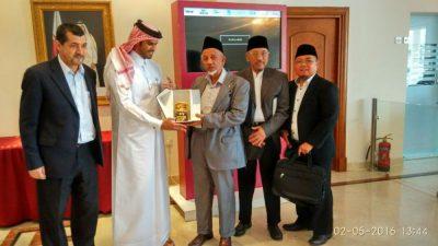 DDII dan Qatar akan kerja sama siarkan dakwah dalam bahasa Indonesia. (bd)