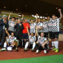 Sean Gelael bermain sepak bola bersama para pebalap F1 atas undangan Pangeran  Monako, Albert. (seangp)