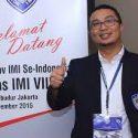 Ketua Umum PP IMI Sadikin Aksa.  (mimbar-rakyat.com)