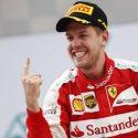 Pebalap Formula Satu Sebastian Vettel.
