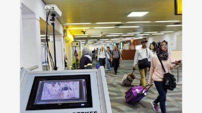 Pemindai suhu tubuh di beberapa Bandara. (kompas.com)