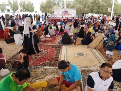 Masyarakat Indonesia di Qatar silaturahim sembari pesta olahraga dan seni.