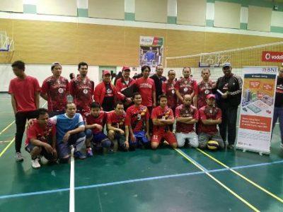 Para atlet dadakan Indonesia dalam pesta olahraga dan seni di Qatar.