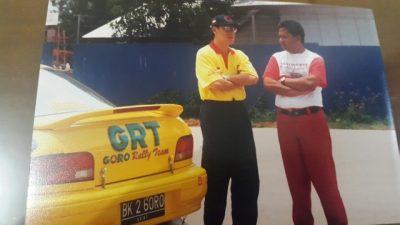 Ricardo ketika berlaga bersama Goro Rally Team. (arl)