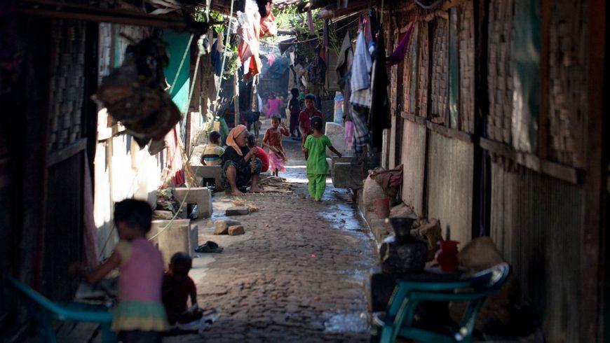 Kondisi kamp penampungan darurat di Cox Bazar, Leda, di bagian timur Bangladesh, dekat perbatasan dengan Myanmar.(Foto: Al Jazeera)