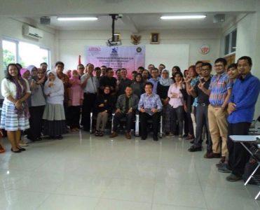 Para peserta Workshop Pendampingan Jurnal Bidang Ilmu Komunikasi yang diselenggarakan APJIKI dan Fakultas Ilmu Komunikasi Universitas Pancasila, Kamis.  (nh)