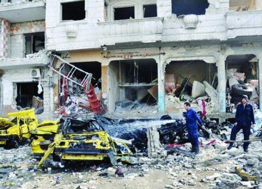 Korban bom di Damaskus. (Foto: AFP)