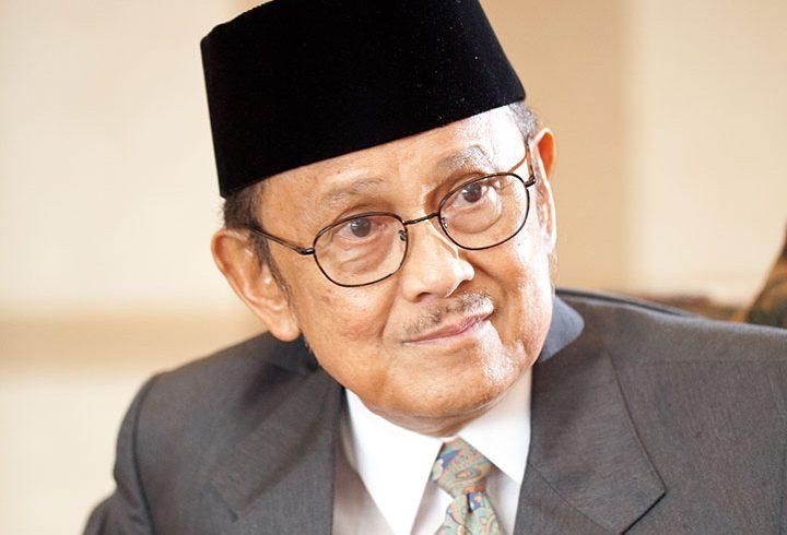 BJ Habibie (Foto: Istimewa)