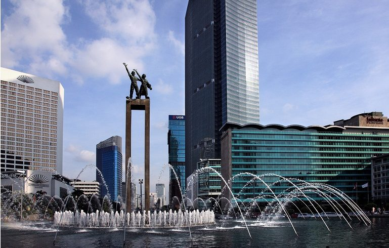 Ilustraasi, tugu selamat datang Jakarta. (Foto:http://wisataindonesia.biz)