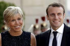Emmanuel Macron bersama istri. (Foto: IBTimes UK)