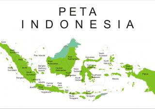 Peta Indonesia (Sejarah Negara Com)