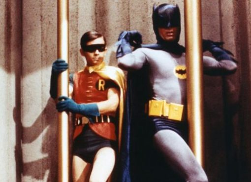 Adam West dan Burt Ward sebagai Batman dan Robin di serial TV 1960.(Foto: Fox /Greenway/Ko/REX / Shutterstock/BBC News)