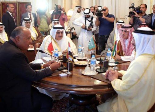 Kelompok empat negara Teluk yang dipimpin Saudi menyalahkan Qatar atas penolakan mereka terhadap 13 tuntutn mereka. Hal itu dikatakan merusak keamanan dan stabilitas di kawasan Teluk. (Foto: EPA/Arab News)