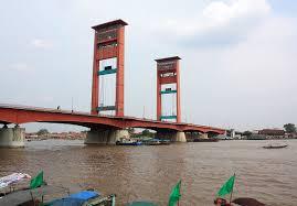 Ilustrasi Jembatan Ampera Palembang. (Foto Wikipedia)