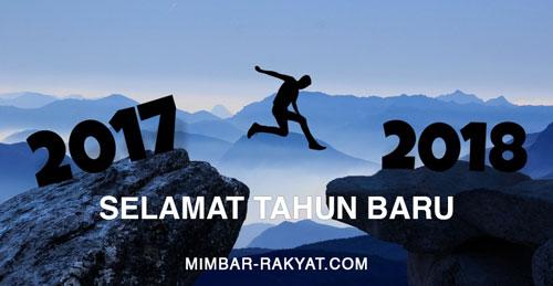 Mimbar-Rakyat.com Mengucapkan Selamat Tahun Baru 2018
