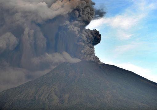 Gunung Agung, di Karangasem, Bali. (Foto: Dokumentasi Li[putan6 News)