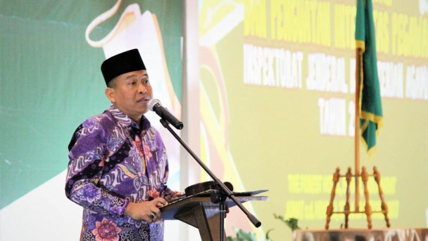 Irjen Kemenag M Nur Kholis Setiawan. (Foto: Itjen Kemenag)