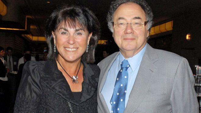 Pasangan Honey (kii) dan Barry Sherman terkenal karena penggalangan dana amal mereka.(Foto: Reuters/BBC News)