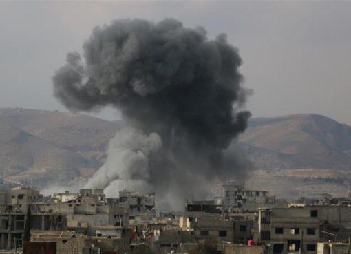 Lebih dari 500 orang terbunuh di pinggiran kota Damaskus sejak 18 Februari. (Foto: Anadolu/Al Jazeera)