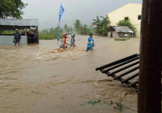 Banjir di Mamuju, Sulawesi Barat. (Foto: BNPB)