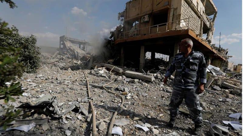 Wilayah yang hancur di Suriah akibat perang. (Foto: Dokumentasi Al Jazeera)