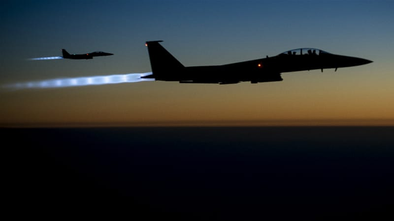 Ilustrasi, pesawat tempur. (Foto: Dokumentasi Al Jazeera)