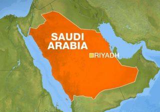 Peta Arab Saudi. (Al Jazeera)