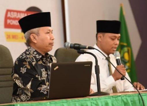Dirjen Penyelenggaraan Haji dan Umrah Nizar Ali (berbaju batik). (Foto: Kemenag/mch)