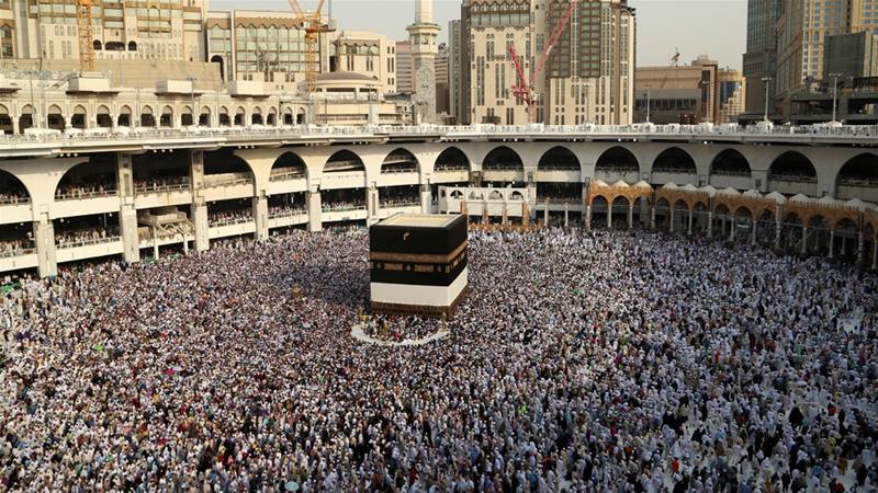 Masjidil Haram Mekkah. (Foto: Reuters/Arab News)