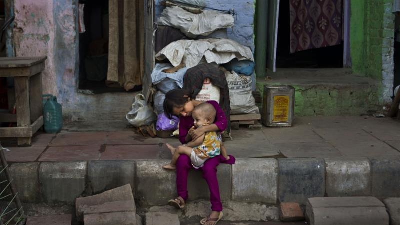 Di India tingkat kekurangan gizi yang tinggi menyebabkan anemia, tingkat kelahiran rendah, dan perkembangan yang tertunda. (Foto Ilustrasi: AP/Al Jazeera)
