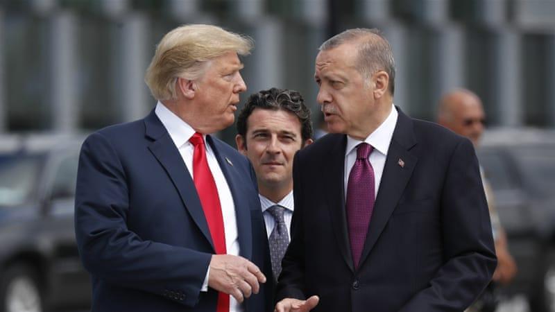 Donald Trump dan Erdogan. (Foto: Dokumentasi AP/Al Jazeera)