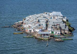 Pulau Migingo (Foto: Jeroen van Loon - Al Jazeera)