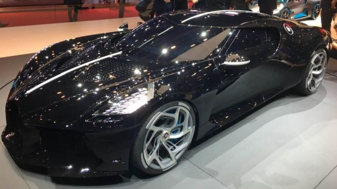 Bugatti, mobil termahal di dunia.(Foto: BBC News)