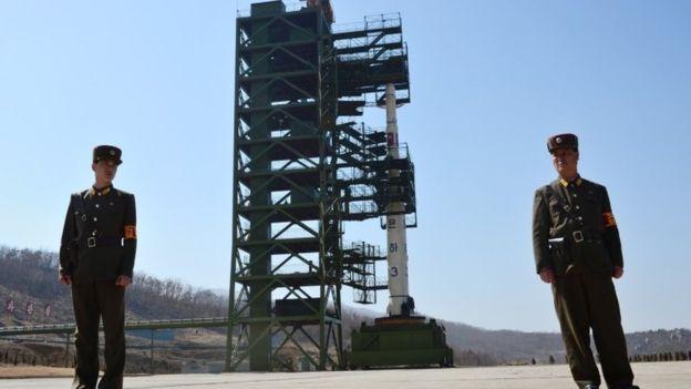 Sohae telah menjadi situs peluncuran satelit kontroversial Korea Utara. (Foto: AFP/BBC News)